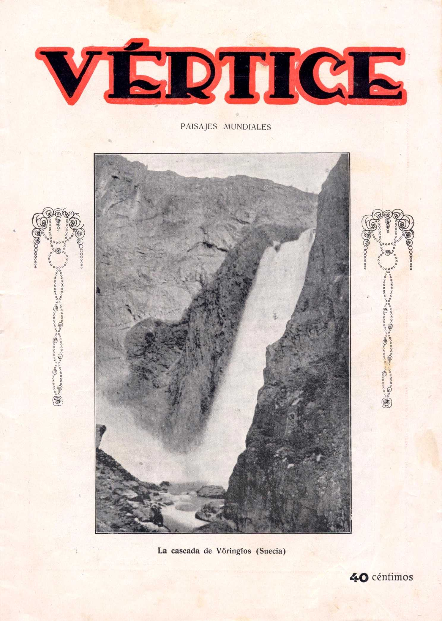 """Portada d'un número de """"Vértice"""""""