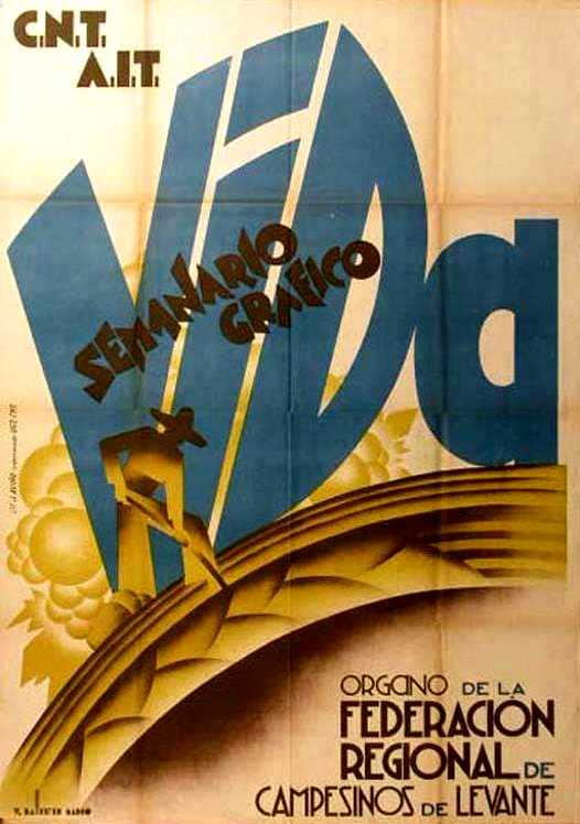 """Cartell publicitari de """"Vida"""" realitzat per Vicent Ballester Marco"""