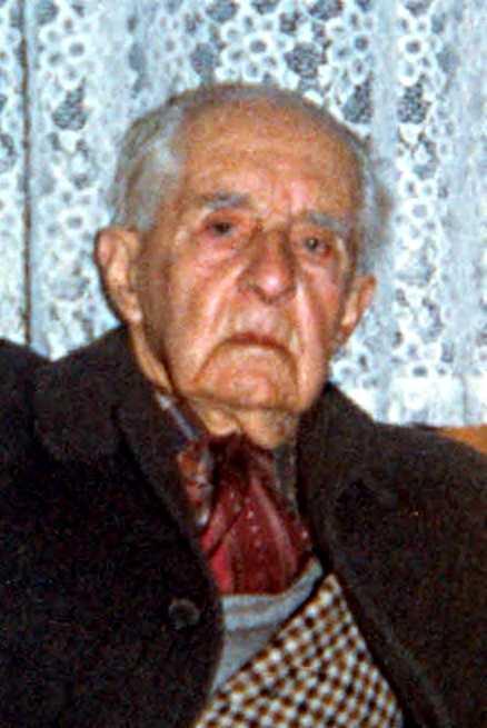 Última foto de Francisco Quintal (ca. 1985)