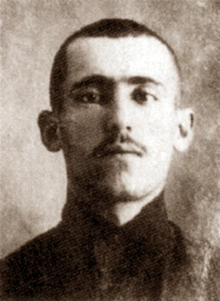 Foto policíaca de Simón Radowitzky (1909)
