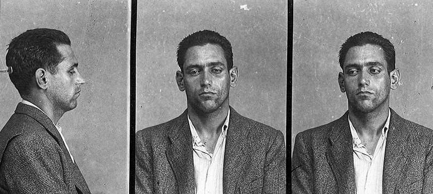 Foto policíaca de Manuel Ramos Rueda (Barcelona, 28 de juny 1945)