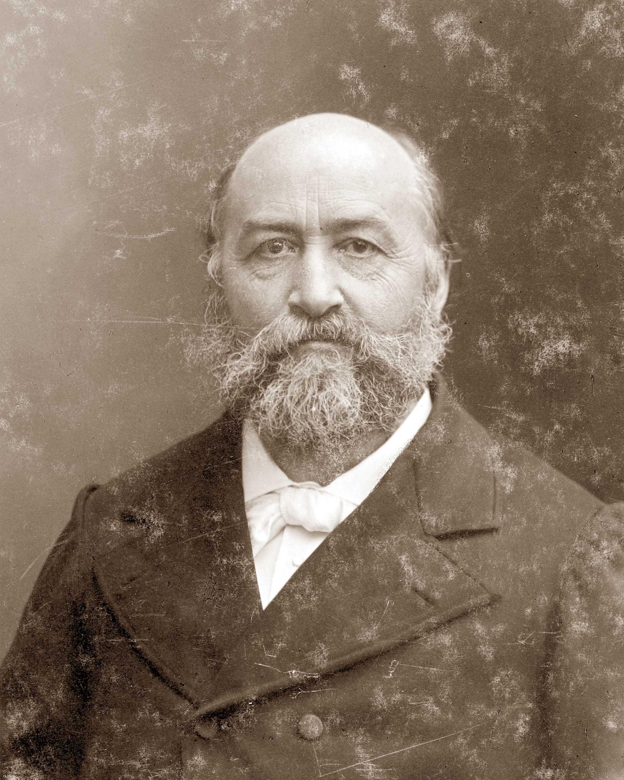 Élie Reclus fotografiat per Nadar (1885)