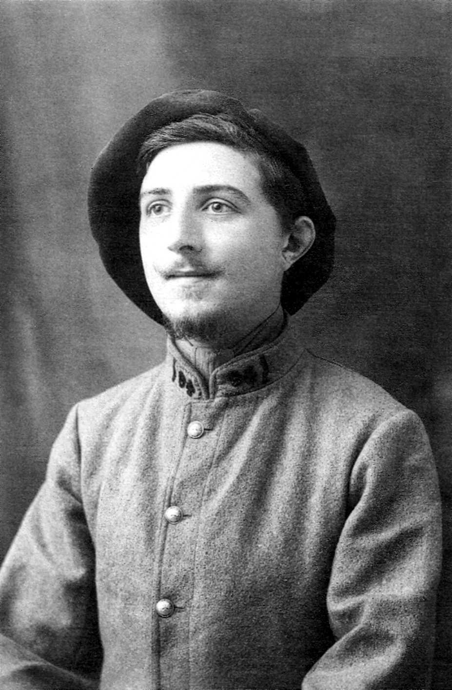 Jacques Reclus, soldat del 94 Regiment d'Infanteria (1916)