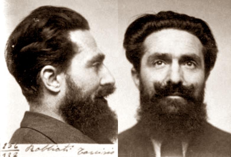 Foto policíaca de Tarcisio Robbiati