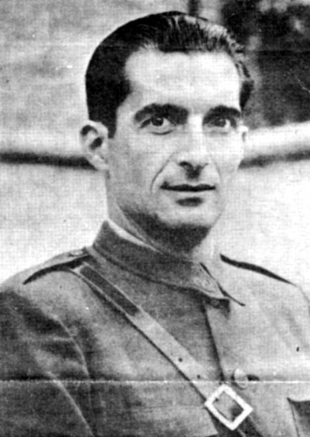 Josep Robusté Parés, sotscomissari general de l'Exèrcit de Terra