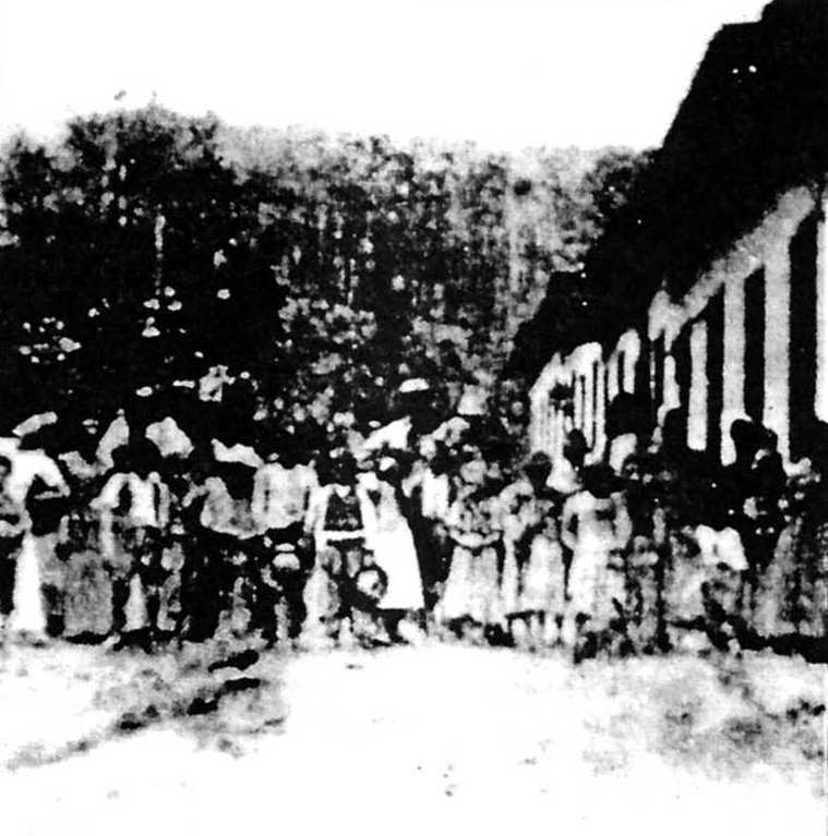 Membres de la Colònia Cecília