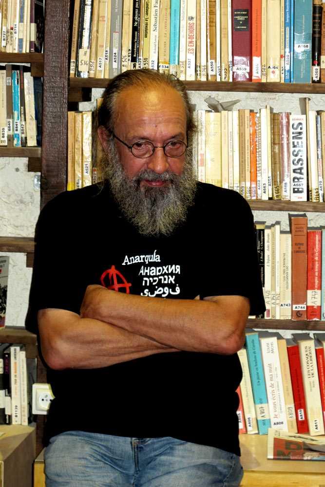 Gilbert Roth fotografiat per Éric B. Coulaud al CIRA (Marsella, octubre de 2012)