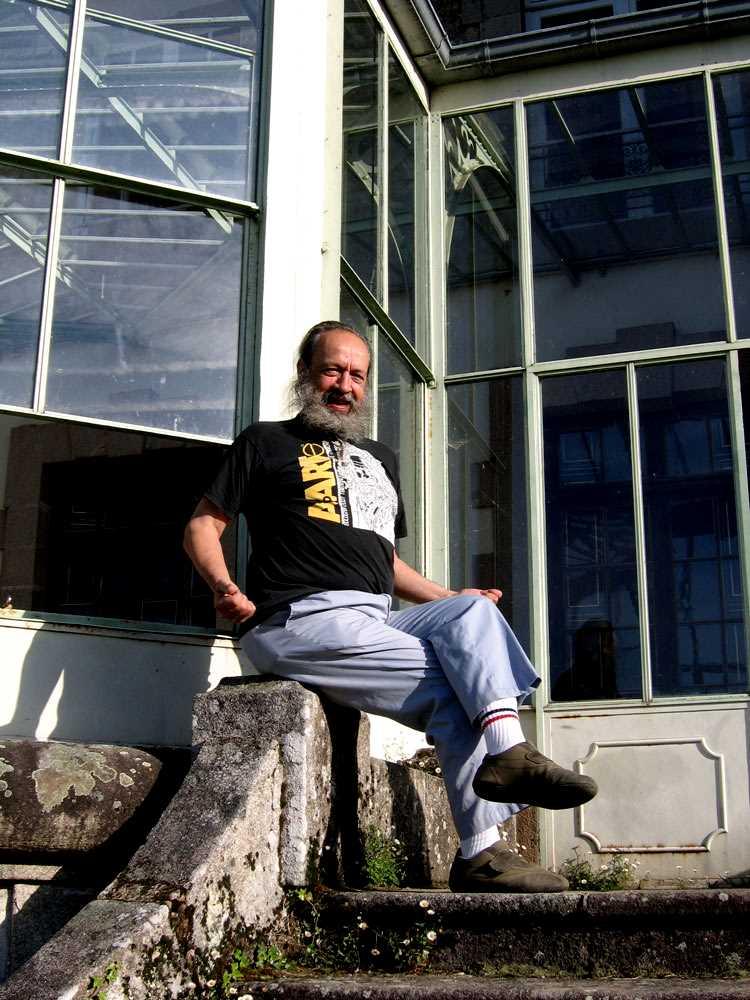 Gilbert Roth fotografiat per Éric B. Coulaud (Ligoure, 2009)