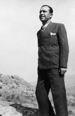 Juan Ruiz Berrocal al camp de concentració de Camp Morand (gener 1940)