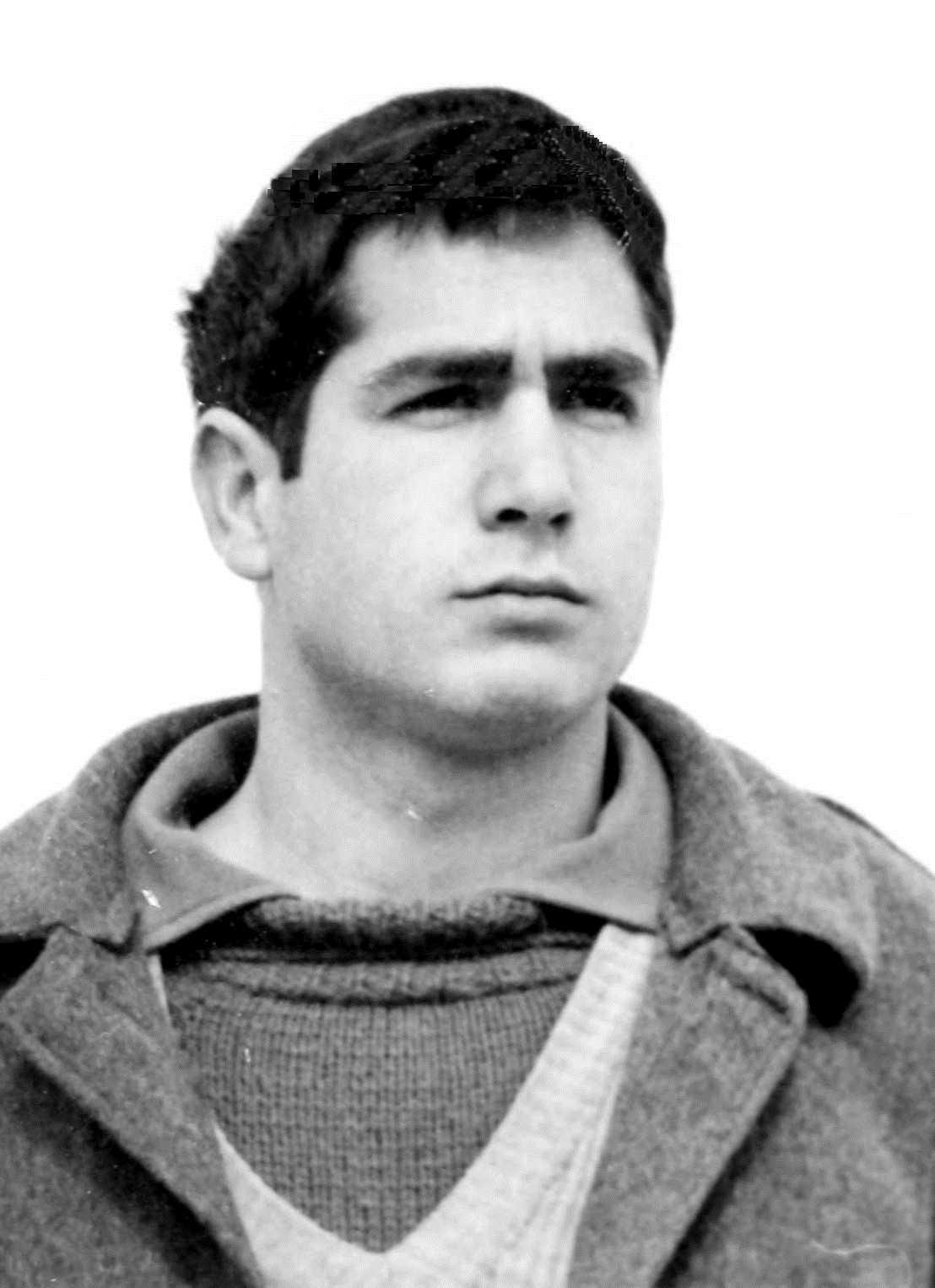 Rafael Ruiz Borao a la Presó Central de Burgos