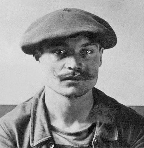 François Salsou detingut (2 d'agost de 1900)