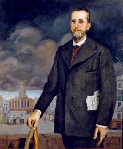 Fermín Salvochea, pintat per Federico Godoy de Castro (Museu Històric Municipal de Cadis)