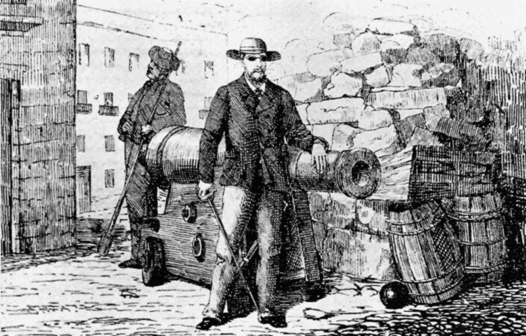 Fermín Salvochea durant els fets del 4 de desembre de 1868 a Cadis