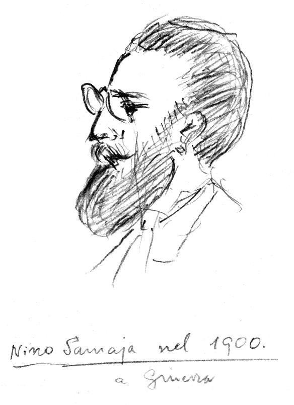 Retrat de Nino Samaja (Ginebra, 1900)