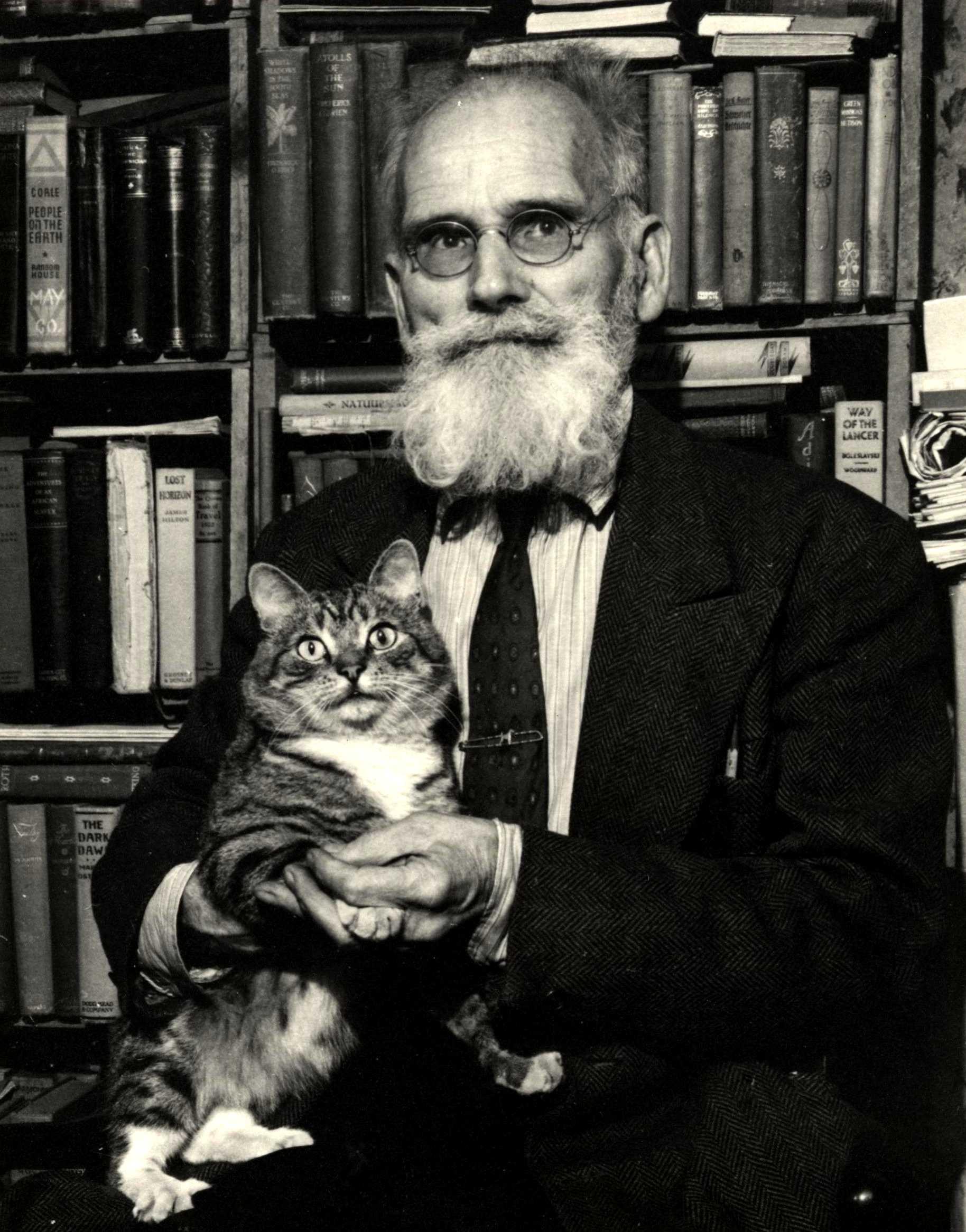 Alfred Sanftleben amb Mister Eloise Isabel Stubby Jones (1947)