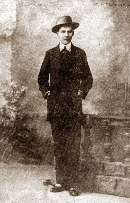 Affonso Schmidt de tornada d'Europa (1908)