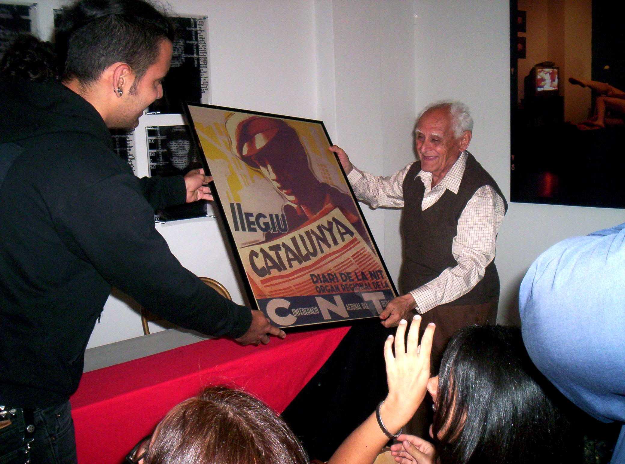 Homenatge a Antonio Serrano González (Caracas, julio 2005)