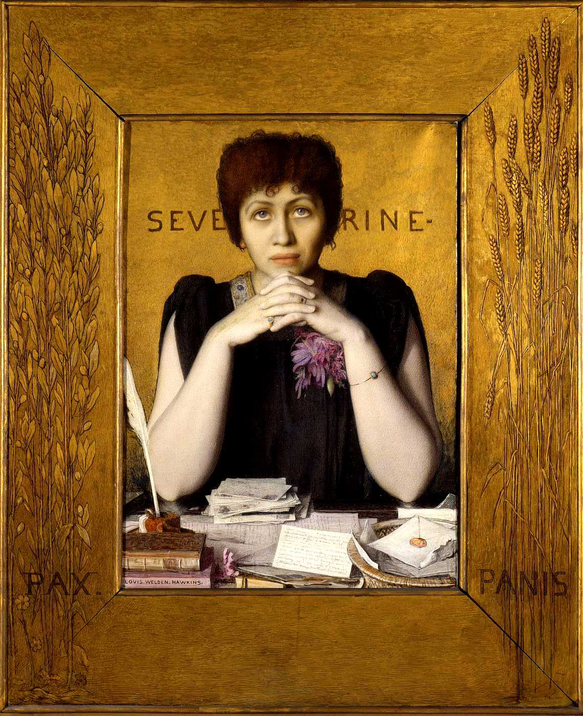 Séverine per Louis Welden Hawkins
