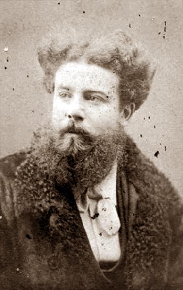 André Slom fotografiat per Charles Guignet (Lausana, ca. 1874)