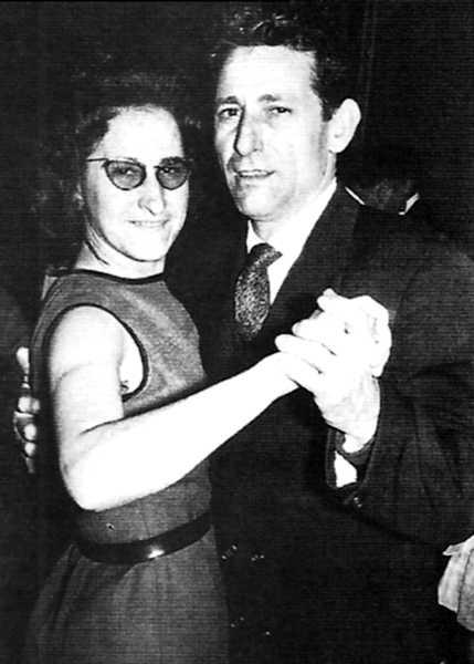 Plácida Aranda y Luis Sos (Toulouse, años sesenta)