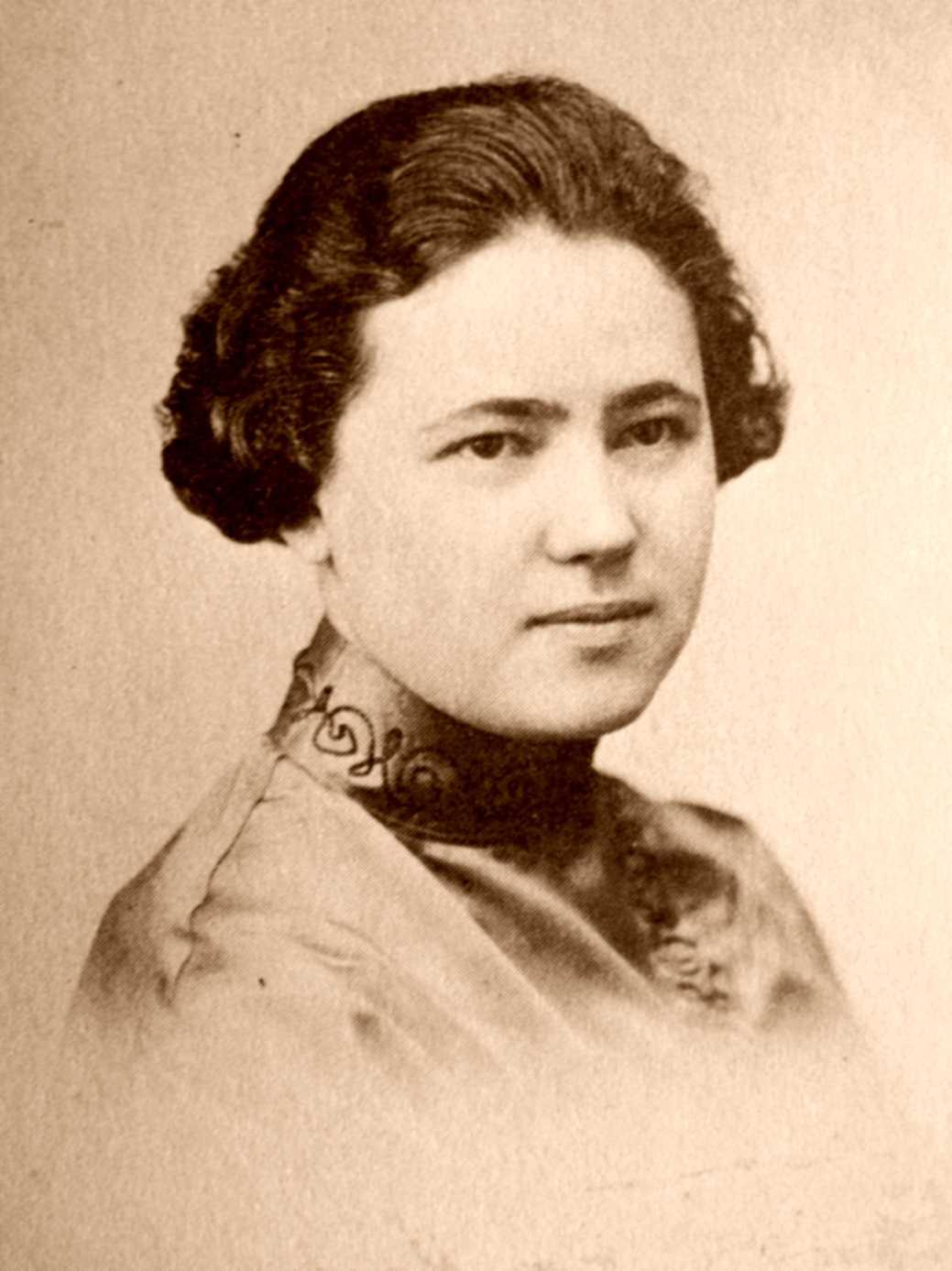 Mollie Steimer (ca. 1918)