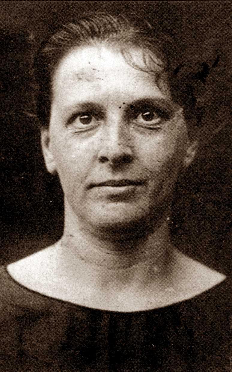 Foto policíaca de Virginia Tabarroni (1928)