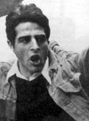 Serge Torrano en una manifestació (ca. 1971)