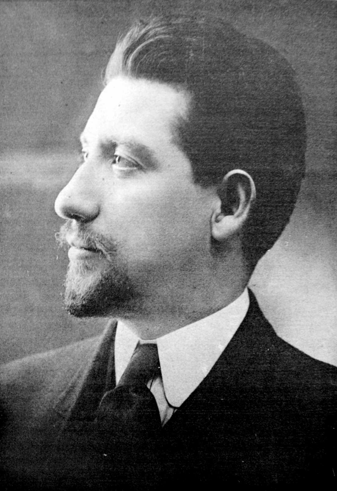 Carlo Tresca fotografiat per V. Bellino (Filadèlfia, 1910)