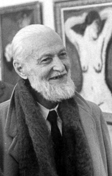 Van Dongen fotografiat per Loomis Dean (Niça, febrer 1959)