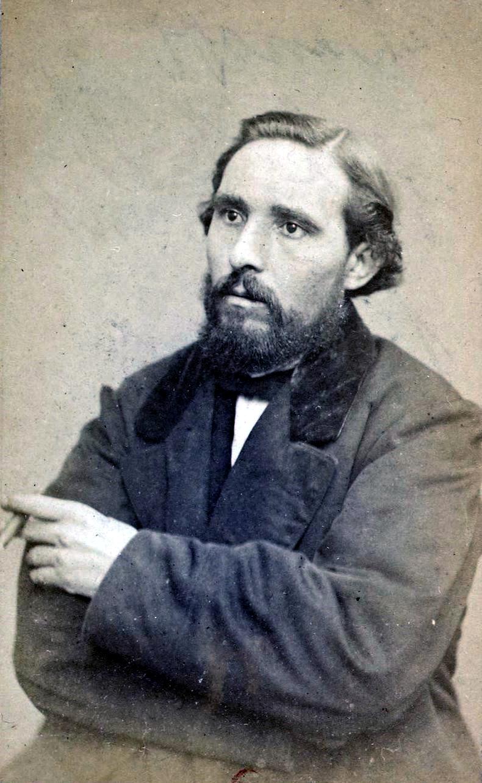 Galdric Verdaguer fotografiat per Émile Appert a París durant la seva detenció poc abans de ser afusellat