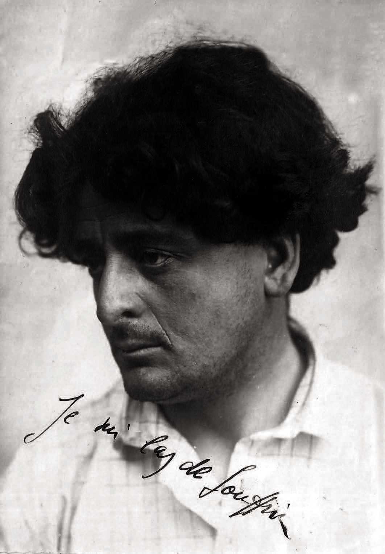 Lorenzo Viani (ca. 1908-1910). «Je susi las de souffrir» (Estic cansat de sofrir)