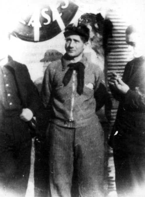 Eutilio Vignoli durant la guerra d'Espanya