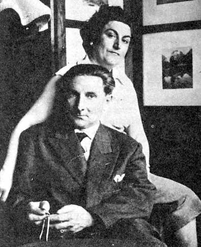 Manuel Villar Mingo i sa companya Benigna Galve