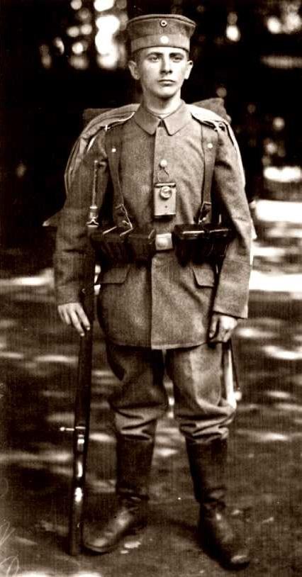 El soldat Bruno Vogel (1917)