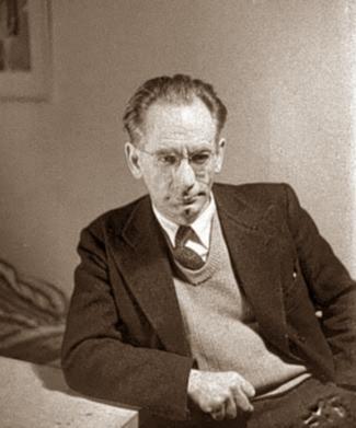 Cesare Zaccaria fotografiat per Vernon Richards (ca. 1946)