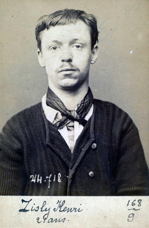 Foto policial d'Henri Zisly (ca. 1894)