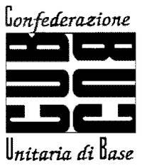 Anagrama de la Confederació Unitària de Base (CUB)
