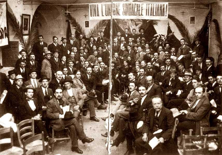 Delegats del IV Congrés Nacional de l'USI (1922)