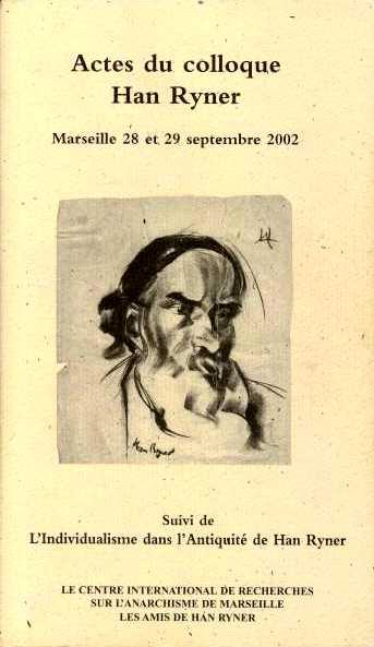 """Actes du colloque Han Ryner"" (2003)"