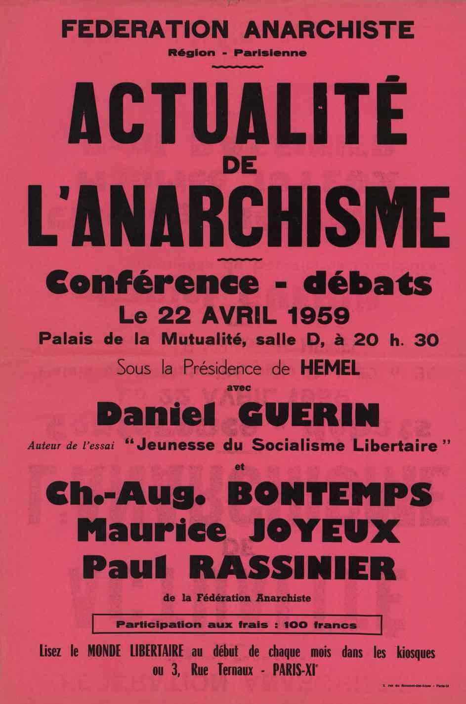 Cartell de la conferència-debat