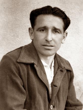 Daniel Agadia Fernández al centre penitenciari d'El Dueso (setembre de 1953)