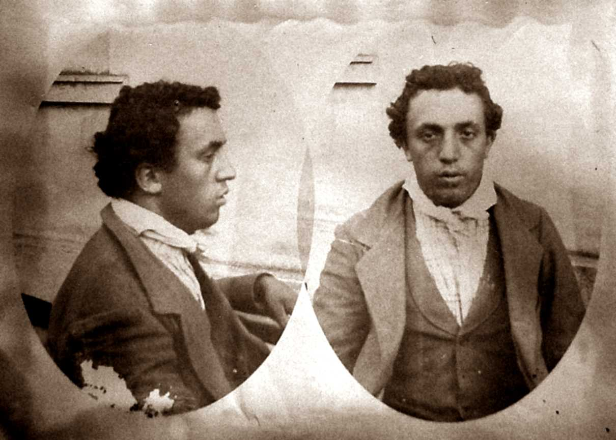 Foto antropomètrica de Domenico Aicardi (1899)