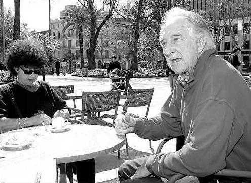 Octavio Alberola i Ariane Gransac a Palma (Mallorca) el 16 de març de 2005