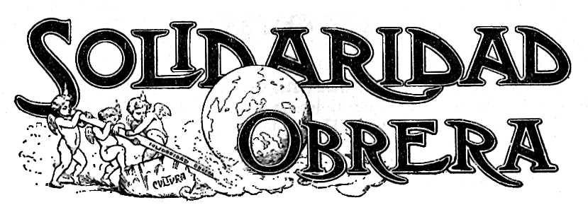 """Anagrama de """"Solidaritat Obrera"""""""