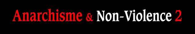 "Capçalera d'""Anarchisme & Non-Violence 2"""