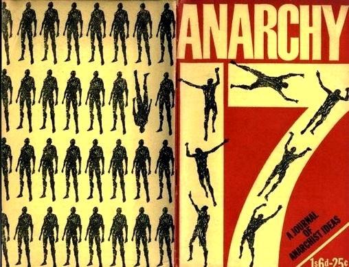 """Portada i contraportada del número 17 d'""""Anarchy"""" dissenyada per Rufus Segar"""