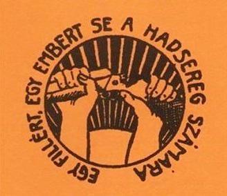 Anagrama dels anarquistes hongaresos