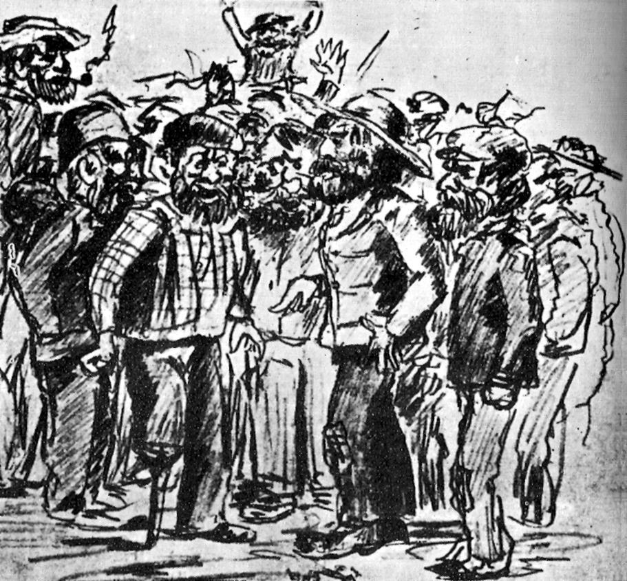 "Picasso: ""Míting anarquista"" (1897)"