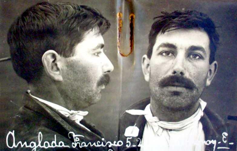 Fotografia antropomètrica de Francesc Anglada Perich (1916)