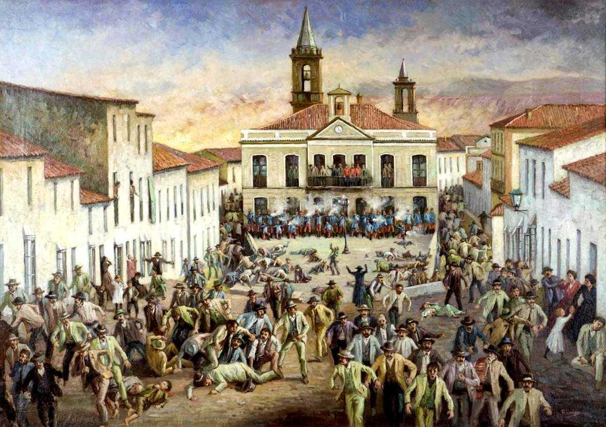 """""""El año de los tiros"""", obra d'Antonio Ponce"""